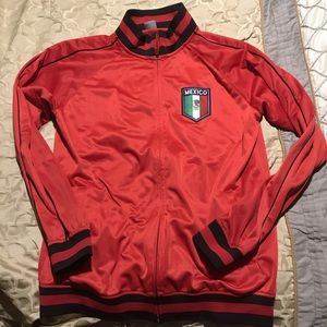 Other - Mexico pregame warmup track jacket red color